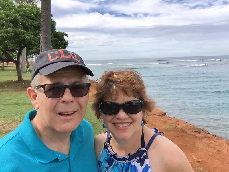 We walked around Ala Moana Beach Park, taking in the beautiful sites