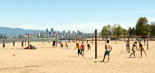 Beaches of Vancouver, British Columbia