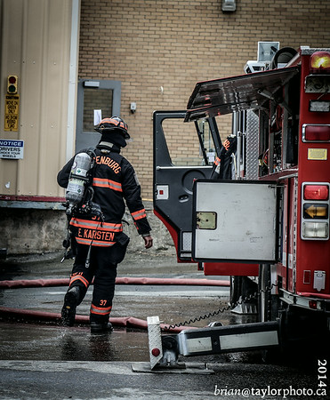 Structure Fire, Lunenburg, Nova Scotia. July 28, 2014