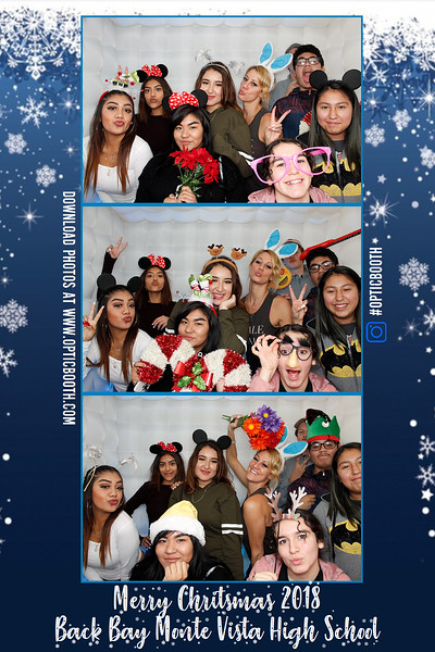 Back Bay Monte Vista High School Holiday Party 2018