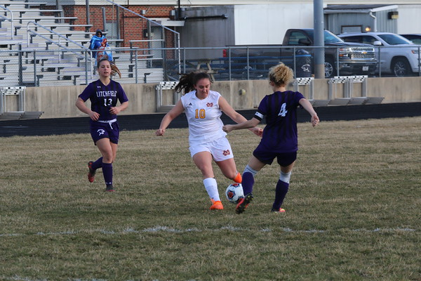 March 18, 2019 - Litchfield Girls Soccer vs. Civic Memorial