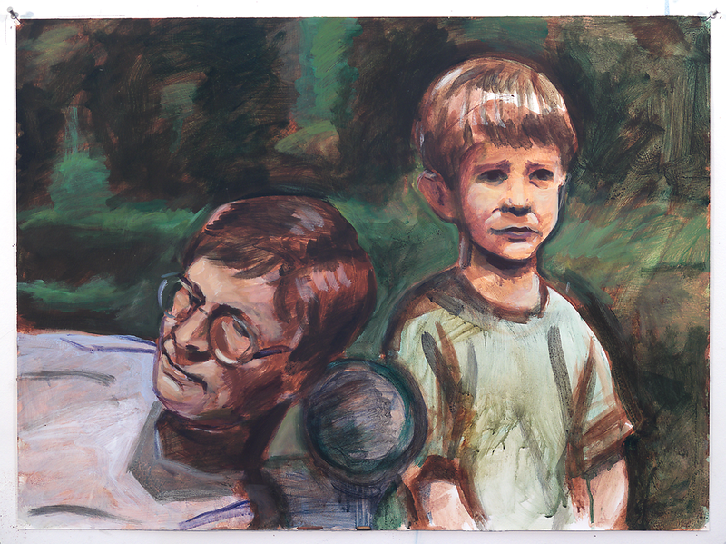 double_portrait(artist_and_son)_acrylic_on_canvas_ND