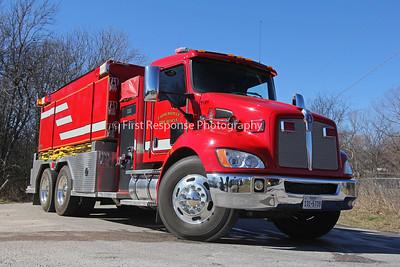 Princeton Mutual Aid wildland fire. CR 901 1/29/17