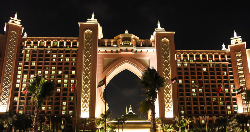 Atlantis at The Palm in Dubai.