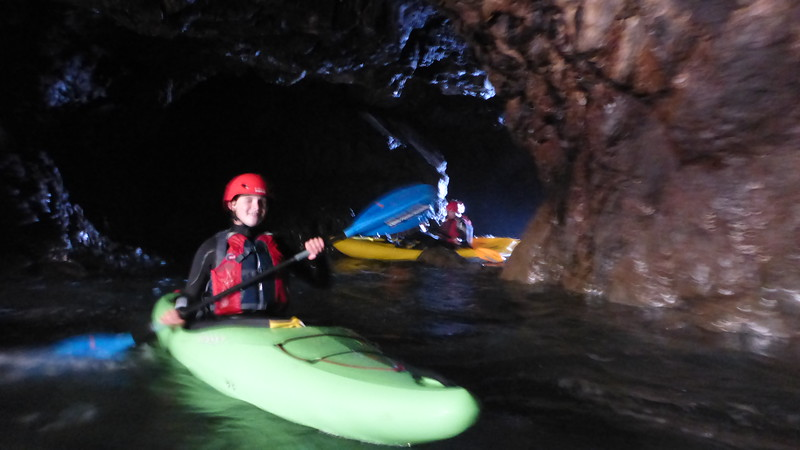 Mendocino Sea Cave Kayaking