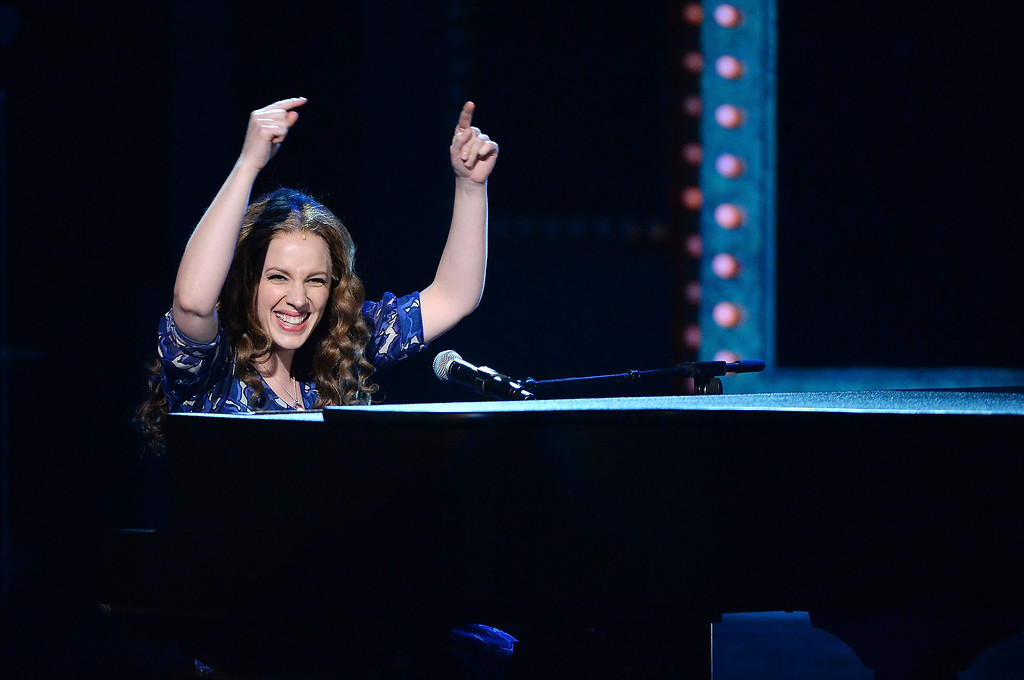 . Actress Jessie Mueller performs onstage during the 68th Annual Tony Awards at Radio City Music Hall on June 8, 2014 in New York City.  (Photo by Theo Wargo/Getty Images for Tony Awards Productions)