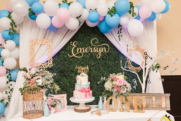 Family: Emersyn's First Birthday