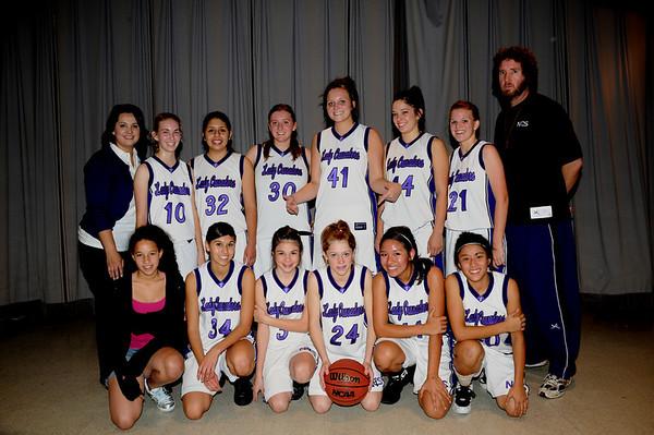 2008/09 - NCS Girls Varsity Basketball Team