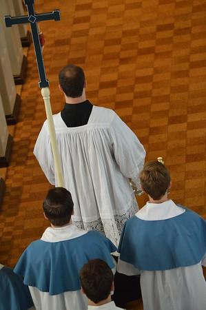 Trinity Sunday Mass at the Society of the Sacred Heart 2015