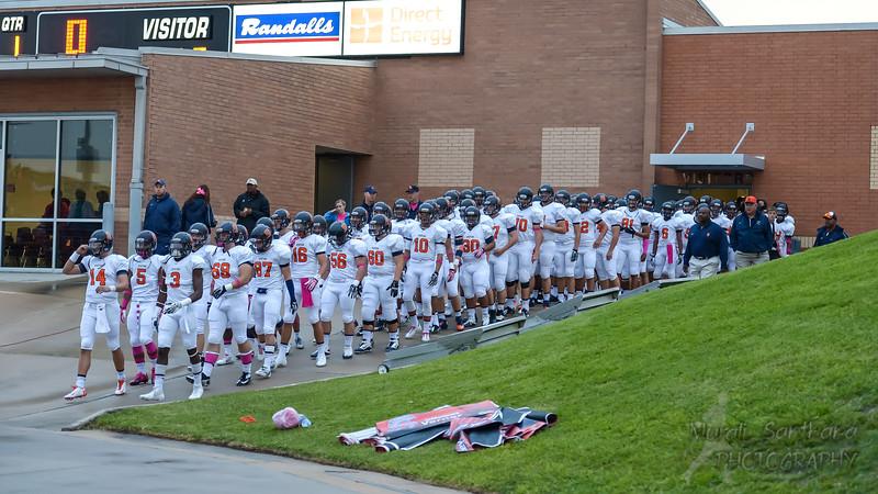 Seven Lakes High School - Football (M) - Varsity - Spartans Team VS Katy Tigers