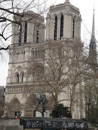 2010: Easter at Notre Dame