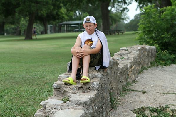 jonah's baptism :: june 21, 2014