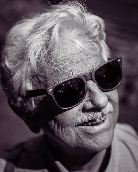 Ultraviolet portrait