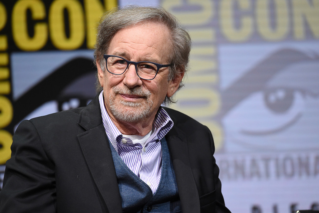 . Director Steven Spielberg attends 2017 Comic-Con International. Spielberg is an Eagle Scout. (Photo by Richard Shotwell/Invision/AP)