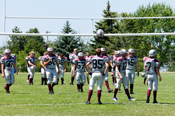 Ontario Varsity Football - Limestone Grenadiers games and practices