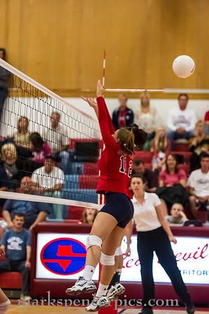 Volleyball SHS vs SalemH 10-2-2012