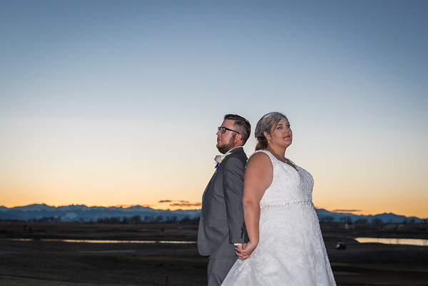 Courtney & Grant | Todd Creek Golf Course