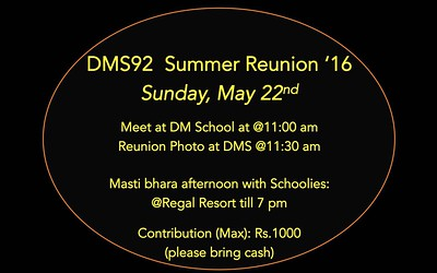 Grand Reunion - May 2016