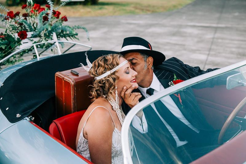 20s Styled Wedding Shoot, Kymberly & Ernesto (Wedding)