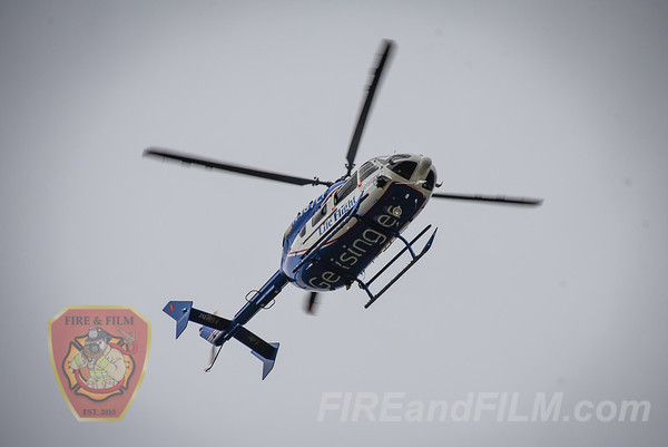 Schuylkill County - N. Union Twp. - LifeFlight Landing - 09/30/2019