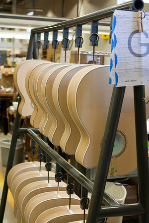 Martin Guitar Factory Tour - 2010