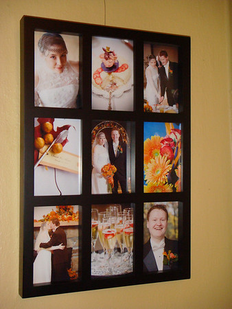 Framed Wedding Pics