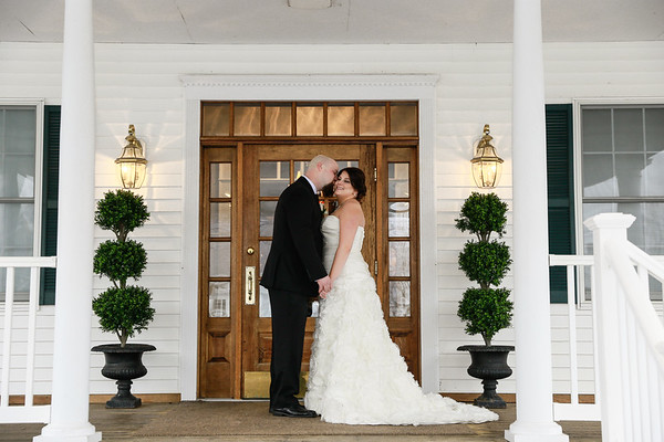 Amanda & Rick's Snowy Groveland Fairways Wedding