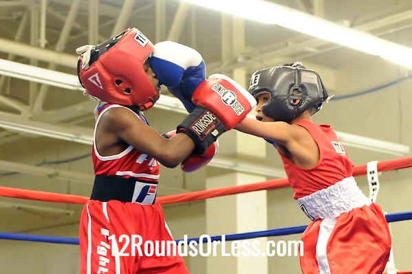 Bout 1 Travel Fain -vs- Latrell King, Junior, 65 lbs