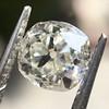 0.94ct Antique Cushion Cut Diamond GIA K Sl1 9