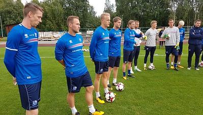 Finnland Ísland 2. september 2017