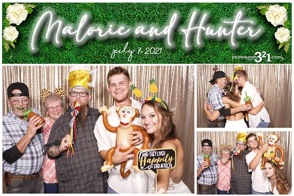 Malorie and Hunter Wedding 2021