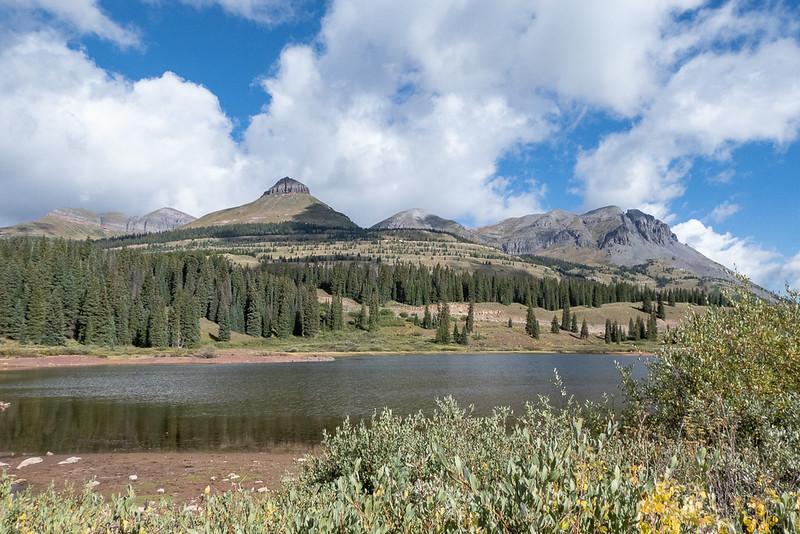 """Same Mountains over """"Big"""" Molas Lake"""
