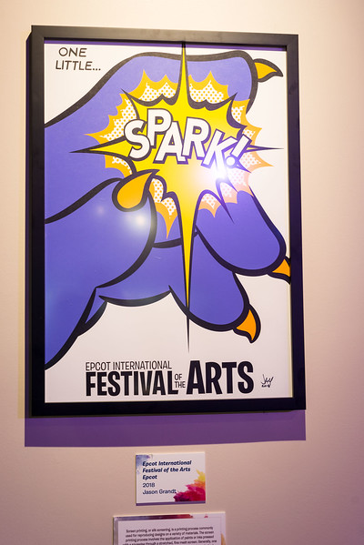 Epcot International Festival of the Arts - Spark! - Magic Kingdom Walt Disney World