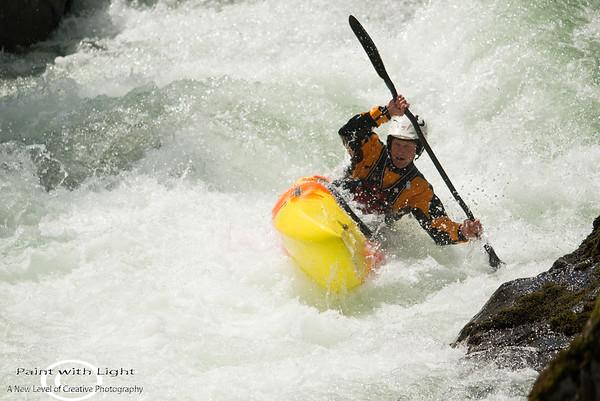 Go Fest- Kayak - King of the river-Cheakamus