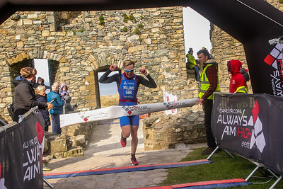 Harlech Duathlon Finish Pictures