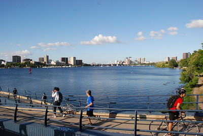 2018 07 24: Boston, MA; Crossing Charles River; MIT