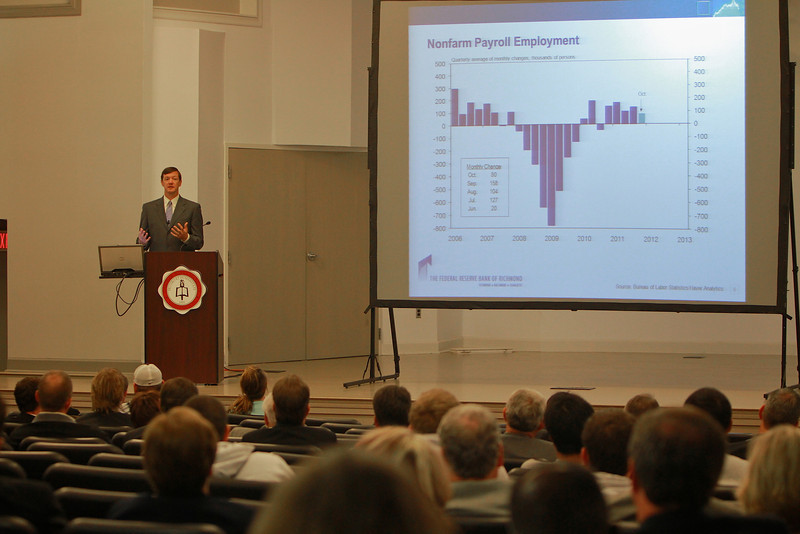 The Godbold School of Business Center for Ethics and Entrepreneurship Presents Broyhill Executive Day Lecture series hosting Matthew Martin, Senior Vice President of Federal Reserve Bank.