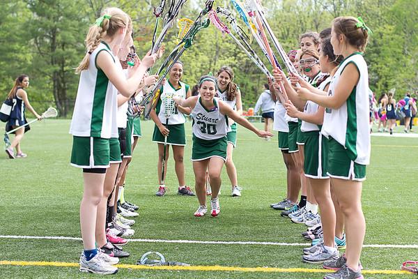 Varsity Lacrosse Senior Day