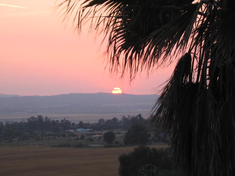 Sunset, 27 May 2006