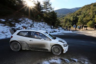 VW WRC en tests