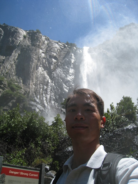 Bridalveil Falls Spray