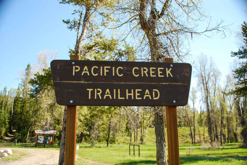 Pacific Creek Trailhead