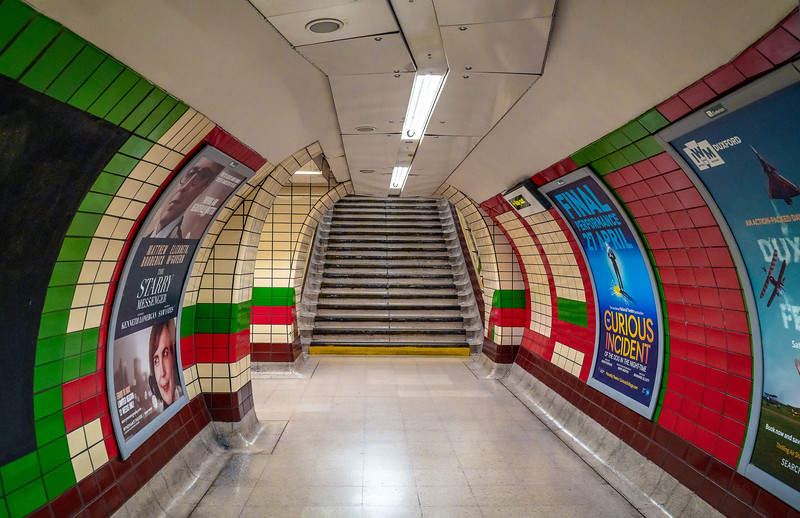 Picadilly Circus Underground Station