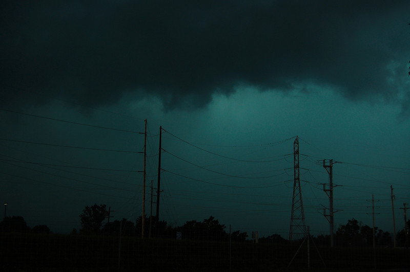 Severe storms in Bowling Green, KY.