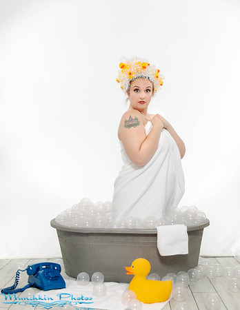 Rubber Duck Pin-up