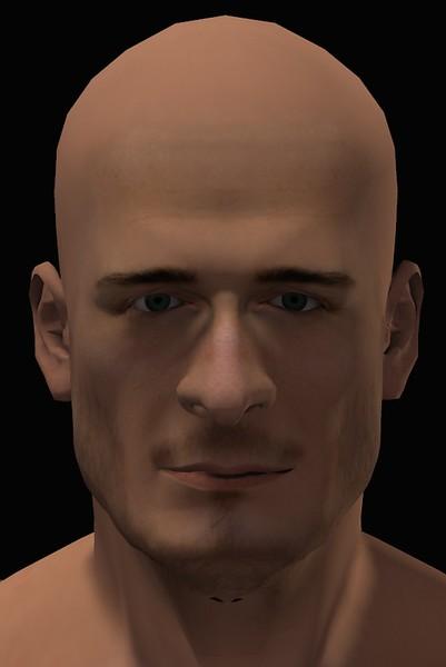 2016 Male Head Study Render 4