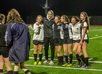 I'm not crying you're crying Set two: Vashon Island High School Girls Soccer Seniors Night 2019 10/30/2019
