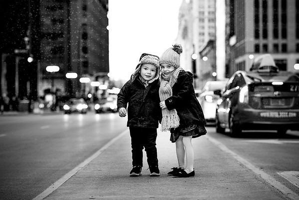 Audrey and Mason Christmas