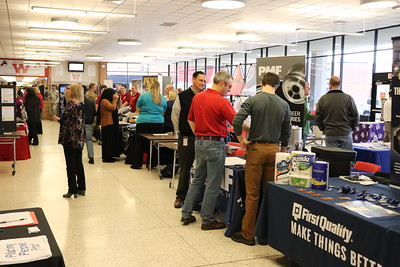 WAHS Hosts Career Fair