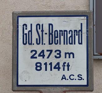 Passo Gran San Bernardo/CH-I - 08/2018